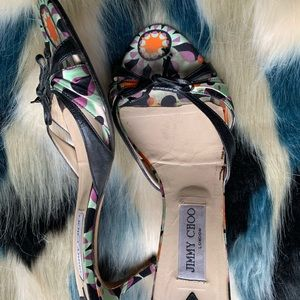 Jimmy choo colorful shoes